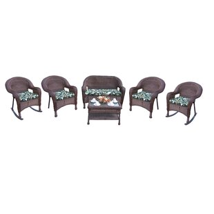 Kingsmill 6 Piece Sofa Set with Cushions