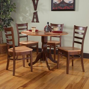 Chicopee 5 Piece Dining Set by Loon Peak