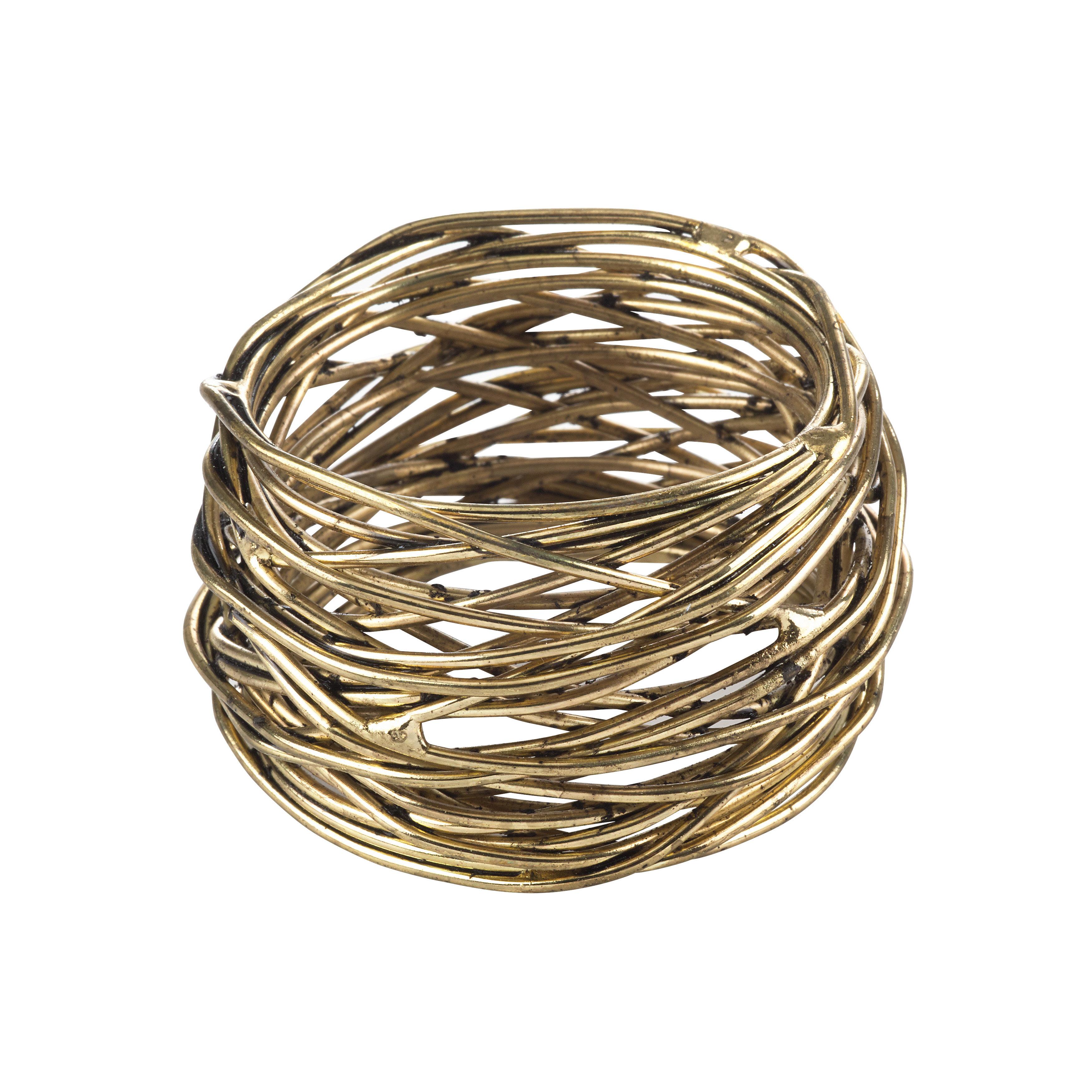 Gold Napkin Rings You Ll Love In 2021 Wayfair