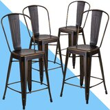 Clarita Bar & Counter Stool (Set of 4) by Hashtag Home