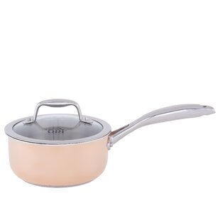 Tri-Ply Professional Covered Saucepan with Lid