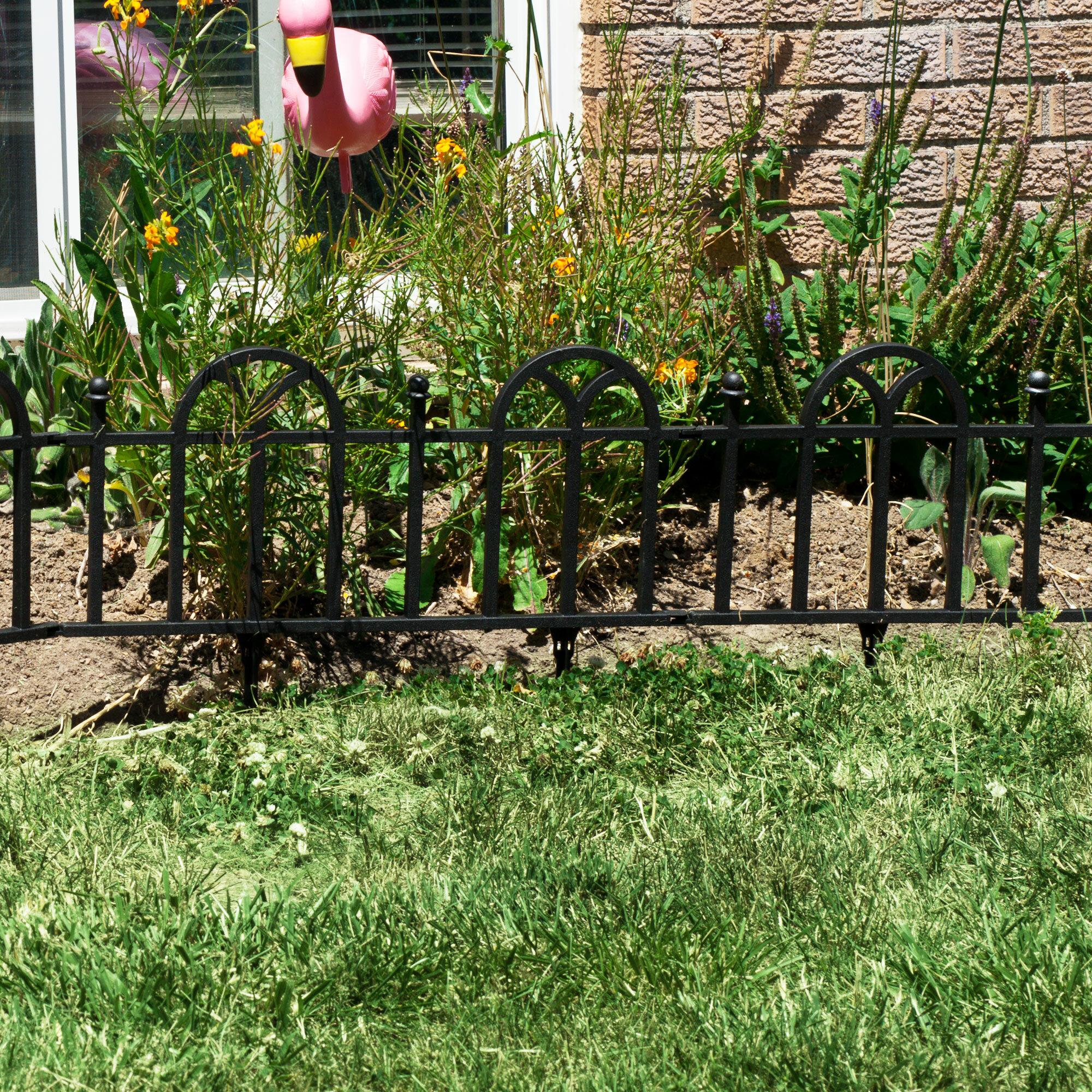 Pure Garden 1 5 Ft H X 2 W Victorian Edging Reviews Wayfair