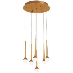 Corson 6-Light Cluster Pendant by Corrigan Studio