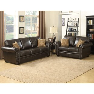 Louis 2 Piece Living Room Set ..