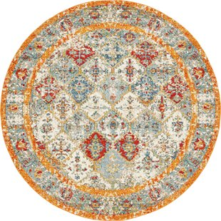 Hartell Stain Resistant Beige Area Rug by Bungalow Rose