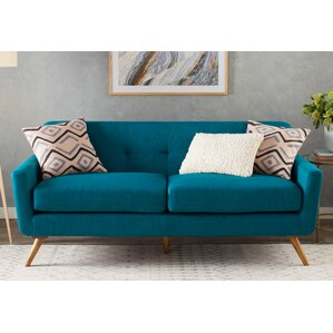 Fresco Tufted Sofa by Lang..