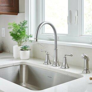 Delancey Double Handle Kitchen Faucet