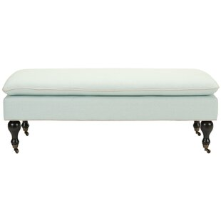 Maggie Robins Egg Pillowtop Upholstered Bench