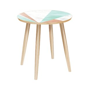 Collinsburg End Table by Bungalow Rose