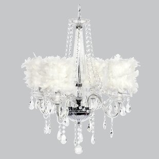 Jubilee Collection Middleton 4-Light Shaded Chandelier
