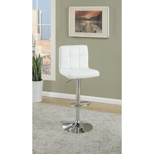 Creamer Adjustable Height Swivel Bar Stool (Set of 2) by Orren Ellis