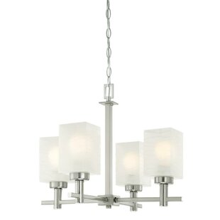 Vernell 4-Light Shaded Chandelier