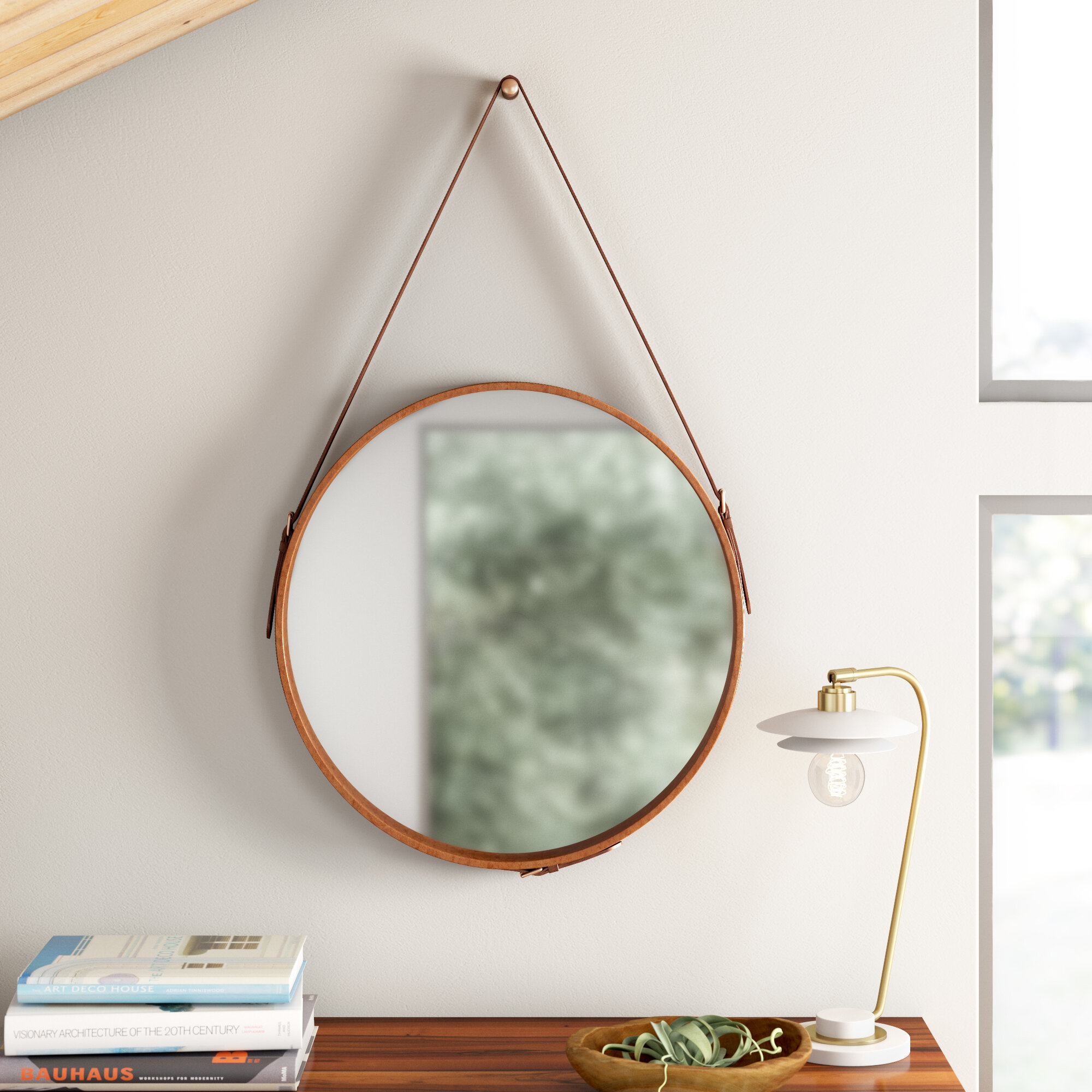 Caesar Traditional Distressed Wall Mirror Reviews Allmodern