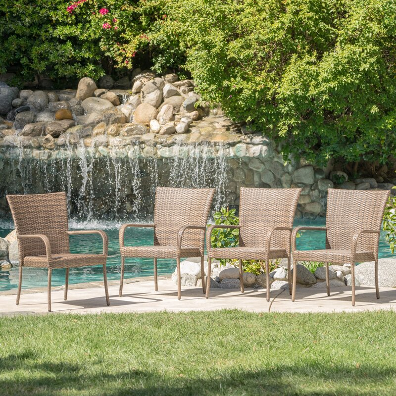 Laurel Foundry Modern Farmhouse Kaelyn Outdoor Wicker ...