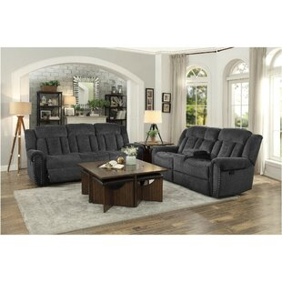 Uplander Upholstered Reclining Configurable Living Room Set Red Barrel Studio