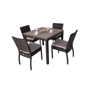 Kailey 4 Seater Dining Set With Cushions By Sol 72 Outdoor