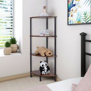 Corner Bookcase by Lifewit