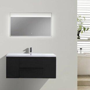 Reviews Lina 47 Single Bathroom Vanity Set ByOrren Ellis