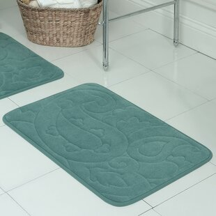 Pelton Plush Memory Foam Bath Mat