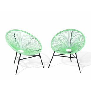 17 Stories Rattan Deep Seat Lounge Chairs