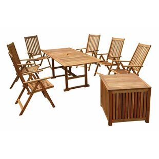 Rosecliff Heights Poulard 8 Piece Dining Set