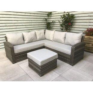 Gabrielle 6 Seater Rattan Corner Sofa Set Image
