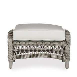 Lloyd Flanders Mackinac Ottoman with Cushion