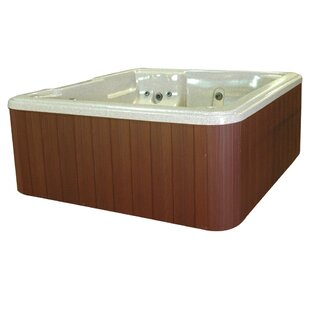 QCA Spas Bahama 5-Person 30-Jet Plug and Play Spa with LED Light and Ozonator