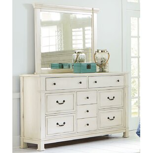 Derwent 9 Drawer Dresser with Mirror