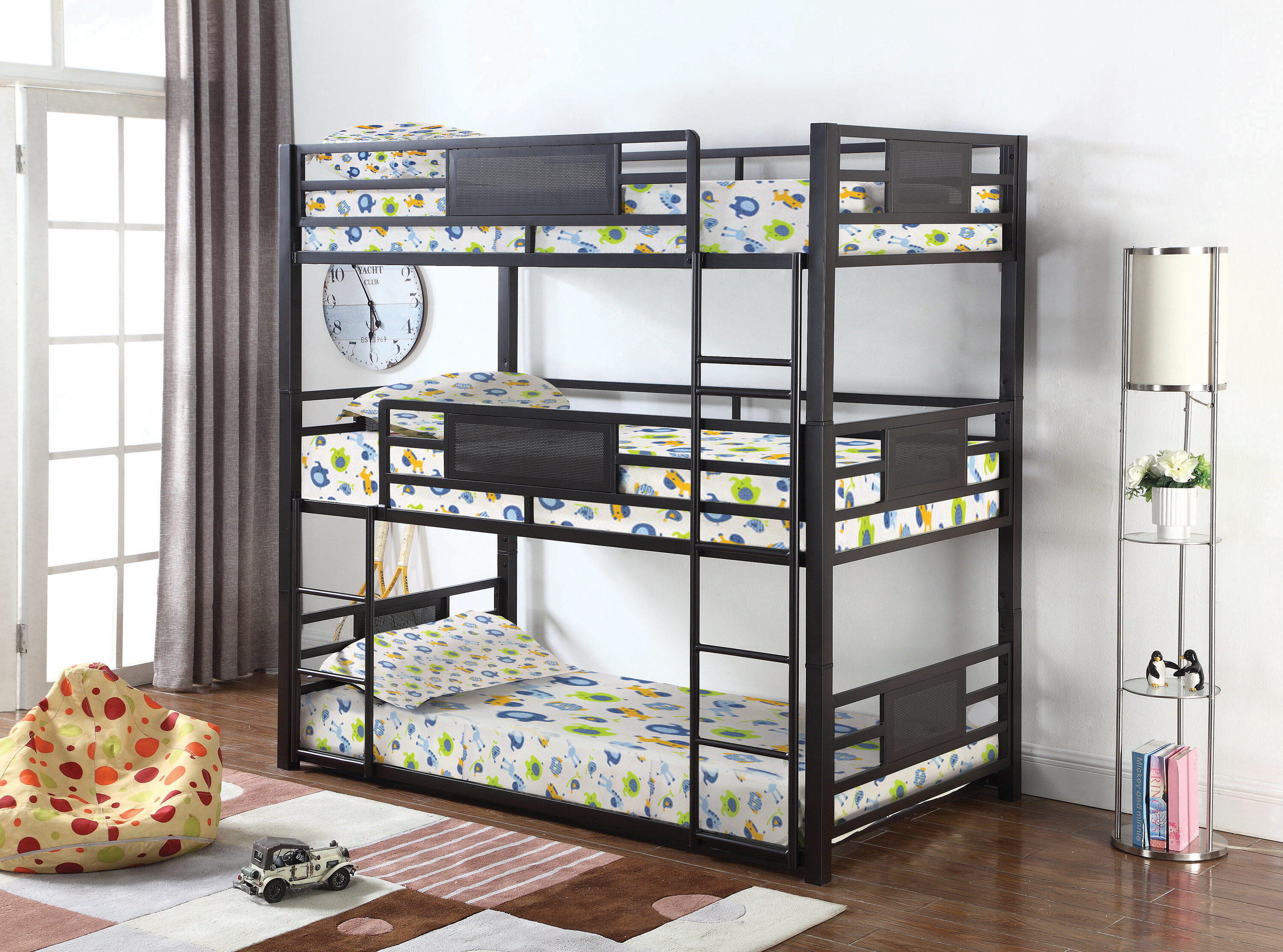 Image result for cheap triple bunk bed