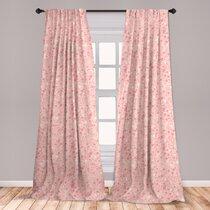 Peach Curtains   Wayfair