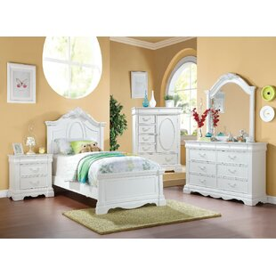 Sharma Wooden Twin Panel Bed
