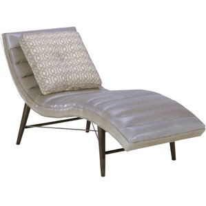 Cushendall Leather Chaise Lounge by Corrigan..