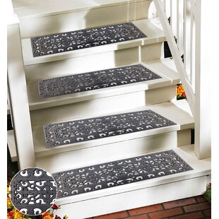 Victorian Wrought Grey Iron Effect Stair Tread