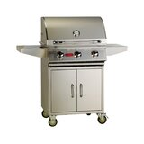 Bull Outdoor Products 3-Burner Convertible Gas Grill with Cabinet