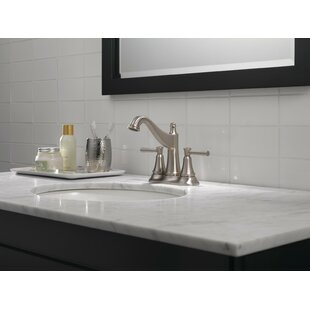 Online Reviews Mylan Centerset Bathroom Faucet with SpotShield Technology ByDelta