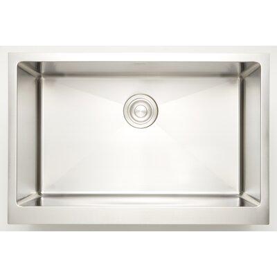 """25"""" X 18"""" Undermount Kitchen Sink American Imaginations"""