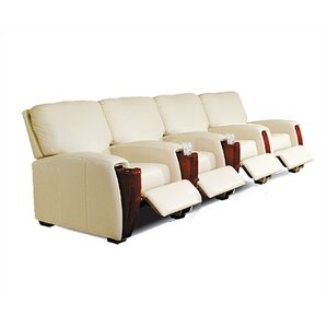 Home Theater Seating (Row of 4) by Bass