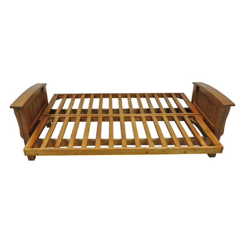 Gold Bond Futon Frame Reviews Wayfair