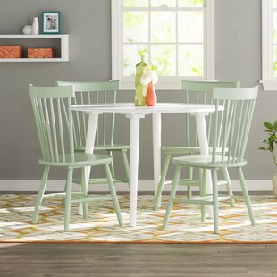 Garlington 5 Piece Dining Set by Ebern Designs