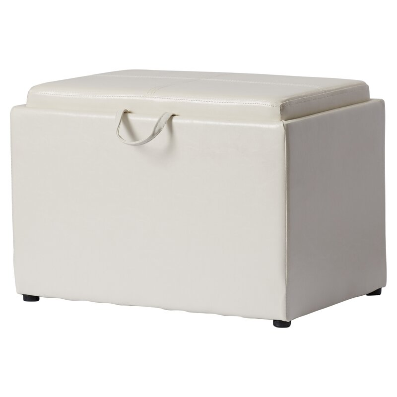 Amazing Hodnett Storage Ottoman Gmtry Best Dining Table And Chair Ideas Images Gmtryco