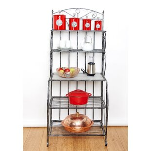 Saddlebrook Iron Baker's Rack by Old..