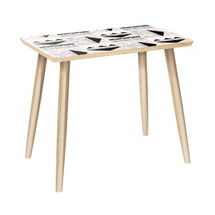 Ugalde End Table by Bungalow Rose