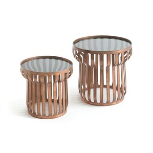 Draven 2 Piece End Tables by World Menagerie