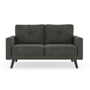 Courtney Microsuede Loveseat