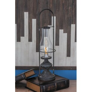 Cole & Grey Metal LED Lantern