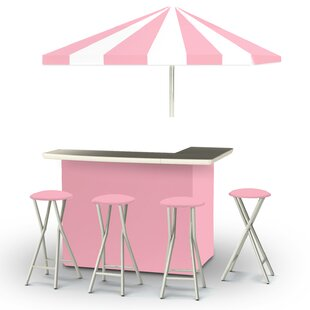 Ice Cream Parlour 8 Piece Bar Set by Best of Times