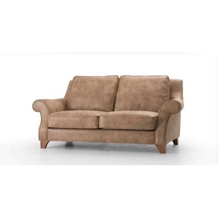 Swilley Leather Loveseat