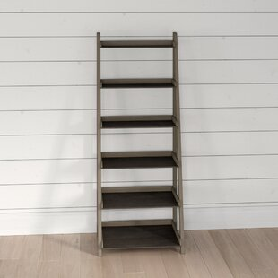 Keyport Wooden 6 Tier Ladder Bookcase By Beachcrest Home