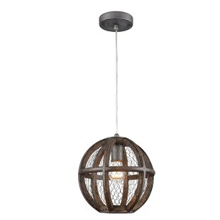 Shaili 1-Light Globe Pendant by Gracie Oaks